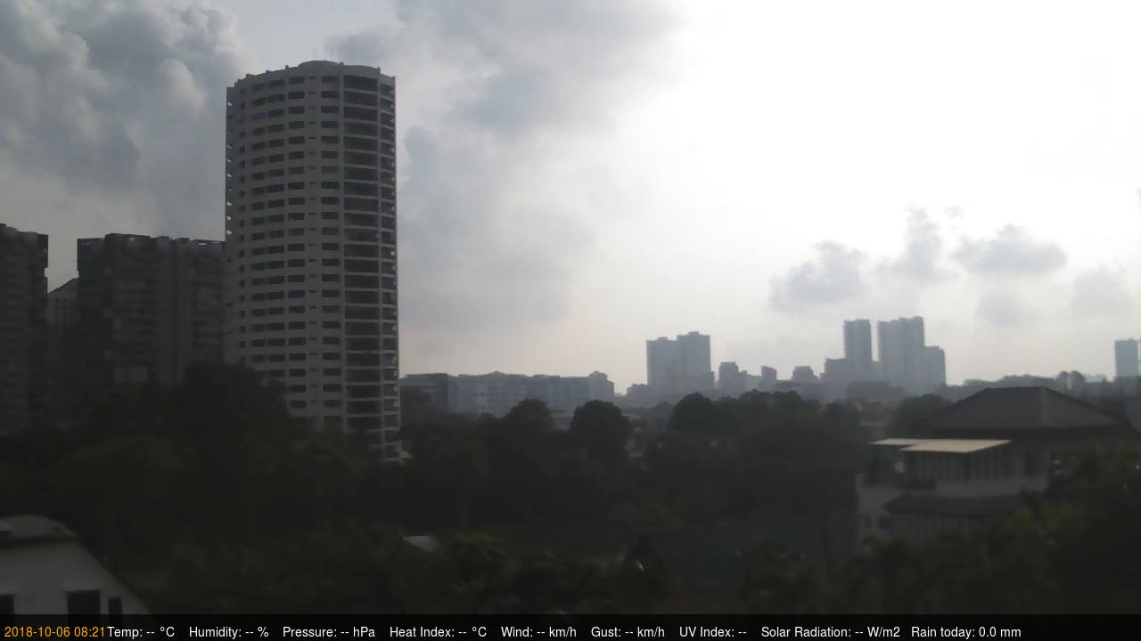 District Upper Thompson Live Cam, Singapore
