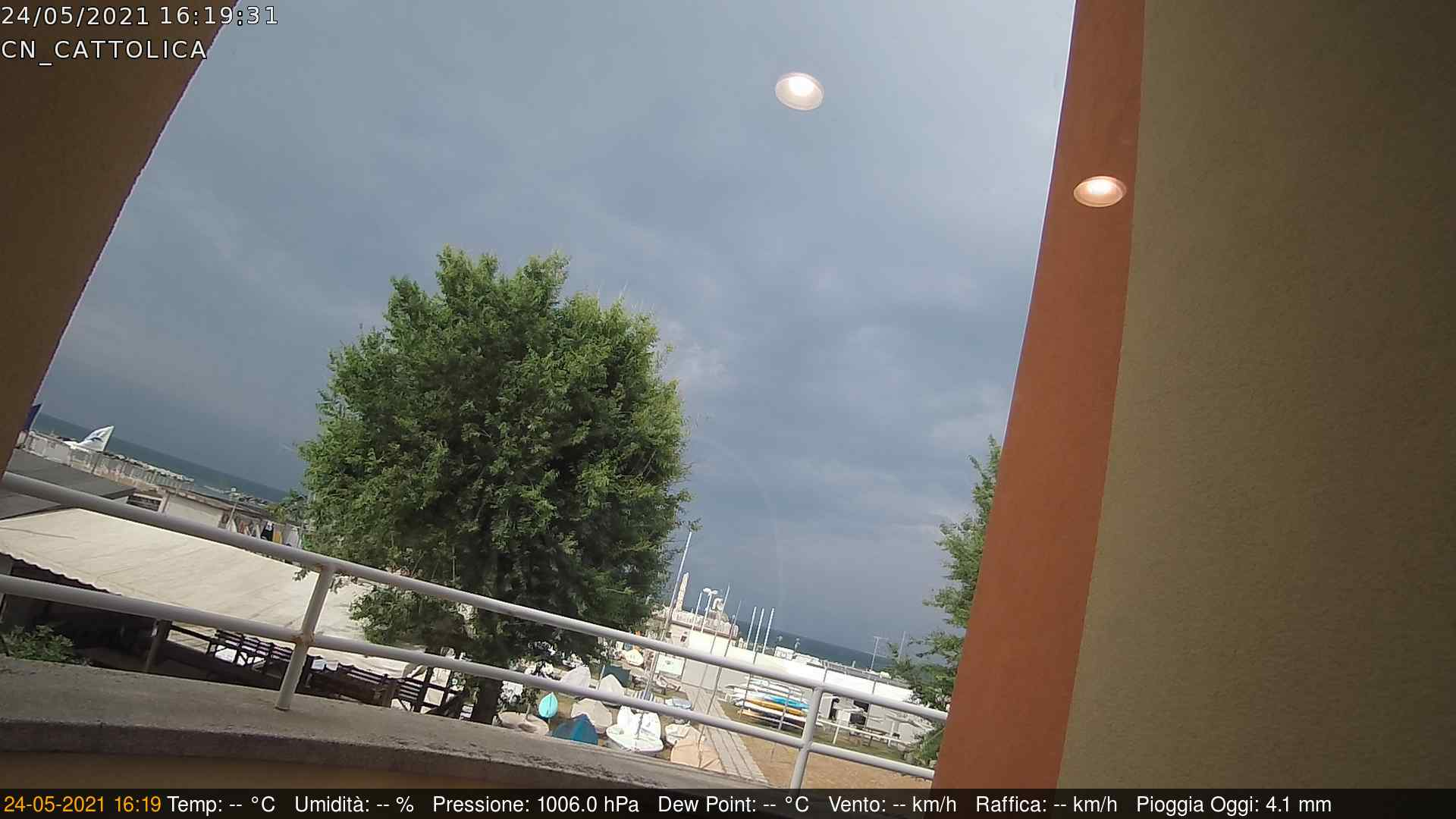 Webcam gestita da meteobridge
