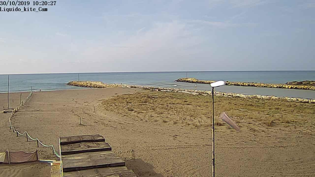 Webcam Montalto di Castro, Montalto Marina - Liquido Kite